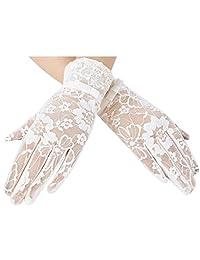Women's Lace Gloves Summer Sun UV Glove Driving Screen touch Gloves