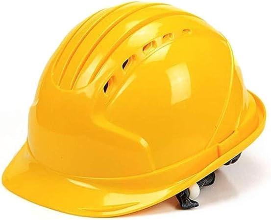 GHMHJH Casco De Seguridad Laboral, Casco ABS, Casco Protector ...