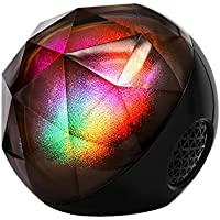 Portable Bluetooth Speakers, VersionTech Mini LED Colorful Wireless Stereo Ball Speakers with Remote Control,Build-in Rechargeable Battery,Support TF Card for iPhone Samsung Laptop and More Devices