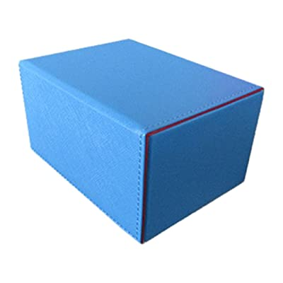 Deck Box: Creation Line Medium 100Ct Blue: Toys & Games