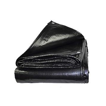 Lona impermeable Carpa a prueba de polvo gruesa Cubierta protectora de lona de protección solar tejida