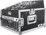 Road Ready RRM4U 10U Slant Mixer Rack/4U Vertical Rack System