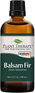 Plant Therapy Balsam Fir Essential Oil 100 mL (3.3 oz) 100% Pure, Undiluted, Therapeutic Grade