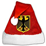 ODLS7 Coat Of Arms Of Germany Christmas Gifts Hats Santa Hats Fashion Holiday Home Party Decorations For Kids Adult