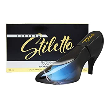 Amazon.com : Ferrera Stiletto by Mirage Brand Fragrances 3.4 oz Inspired by GOOD GIRL BY CAROLINA HERRERA FOR WOMEN With A NovoGlow Pouch Included : Beauty