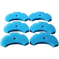 LTWHOME Foam Filter Pads Fit for The Hozelock Easy Clear Filters (Pack of 6)
