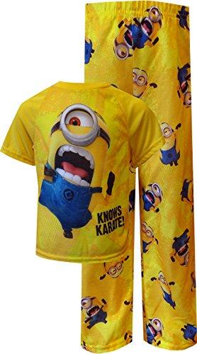 Despicable Minion Karate Toddler Pajamas product image
