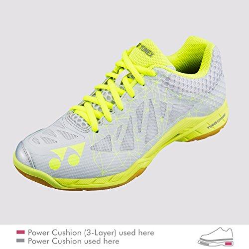 Yonex Aerus 2 LX Women's Badminton Court Shoes (W 9.5/26.0 cm, Gray)