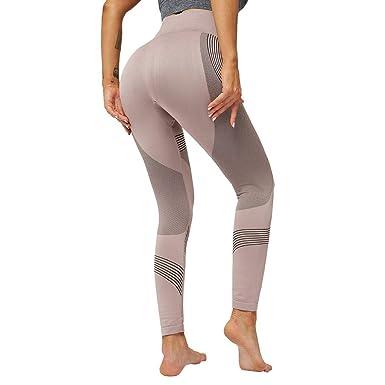 LianMengMVP Donna Pantaloni da Yoga Leggins Sportivi Donna Abbigliamento Sportivo Donna Fitness Vestiti Yoga Leggins Donna Fitness