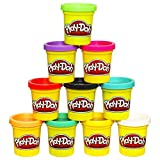 Toys : Play-Doh 10-Pack of Colors (Amazon Exclusive)