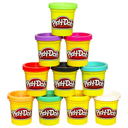 Play-Doh 10-Pack of Colors (Amazon Exclusive) (Red And White Halloween Cake)