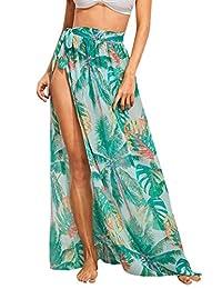 Floerns Falda de Playa para Mujer