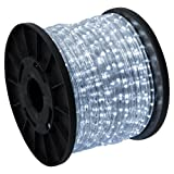 GotHobby 150' LED Rope Light Cool White Home Outdoor Christmas Decorative Lighting 110v