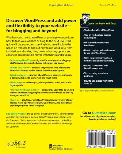 WordPress-For-Dummies-For-Dummies-Series