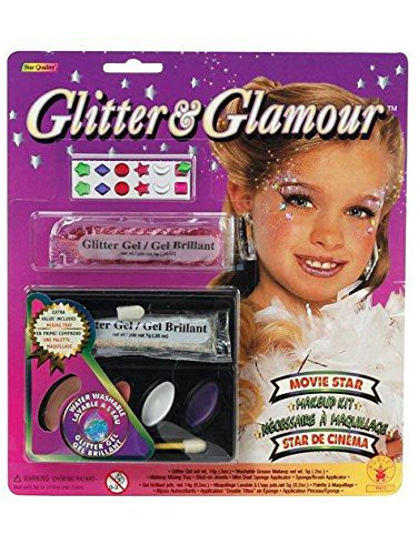 Rubies Glitter and Glamour Movie Star Make-Up Kit