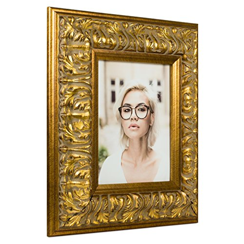 Craig Frames Barroco, Antique Gold Baroque Picture Frame, 8.