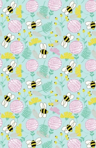 Read Online Bullet Journal Bees and Clover Pattern - Green: 162 Numbered Pages With 150 Dot Grid Pages, 6 Index Pages and 2 Key Pages in Easy To Carry 5.5 X 8.5 Size. (Dot Journal) (Volume 54) PDF