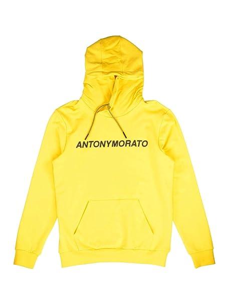 c31f63318ae28 Antony Morato Sudadera Stampa Amarillo  Amazon.es  Ropa y accesorios