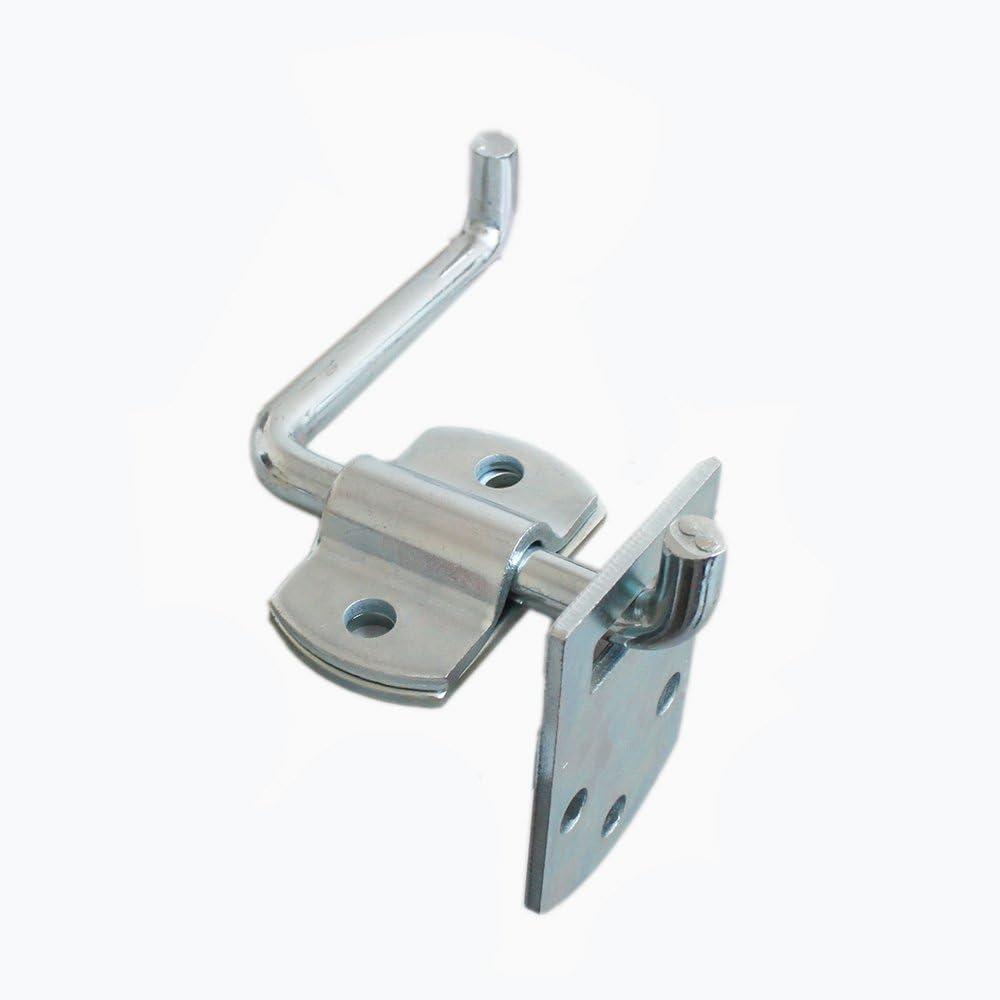 X-Haibei Corner Gate Latch Bracket Set, Utility Trailer Truck Wood Security Rack Stake Body Corner Brackets Gate