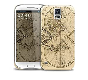 world map vintage Samsung Galaxy S5 GS5 protective phone case
