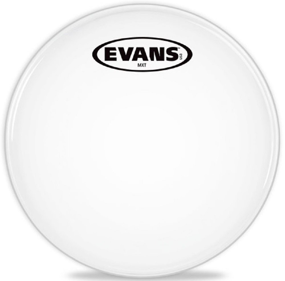 Evans MX White Marching Tenor Drumhead, 14 Inch Evans Heads TT14MXW