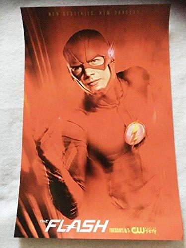 The Flash Original Promo TV Poster 2017 Grant Gustin Rare Cw