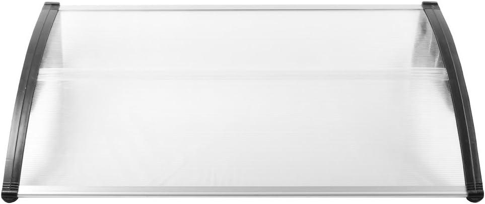 Marquesina para puerta de LZQ diversos tama/ños y colores policarbonato transparente