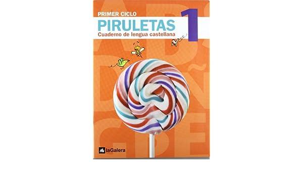 Piruletas.Cuaderno de Lengua castellana 1: 9788424612603: Amazon.com: Books