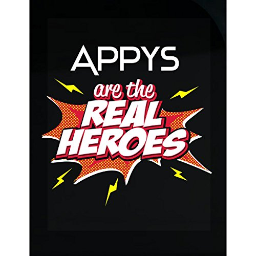Appy Tee - My Family Tee Appys Are The Real Heroes Cute Gift For Grandmother - Sticker