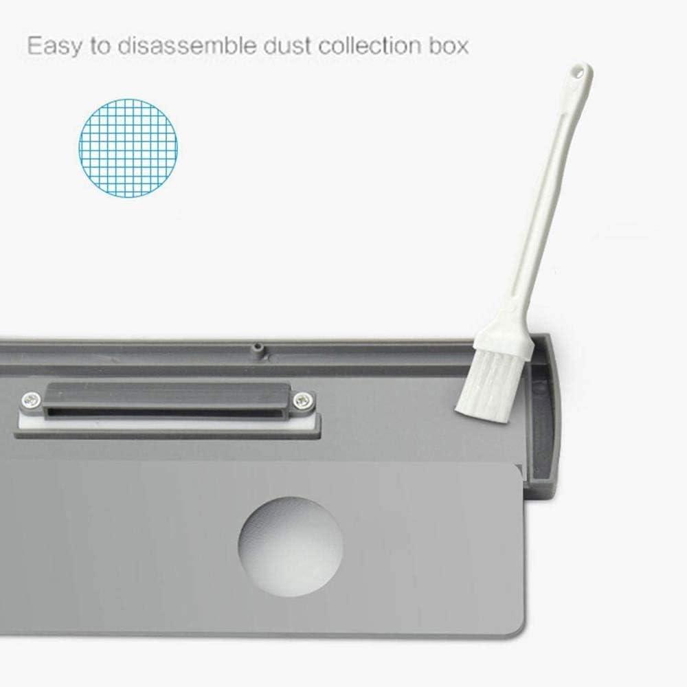 Aquila Smart Home USB de Charge Nettoyage Creative Balayer Robot Outil Accessoires Nettoyage Monobrosses, Blanc AQUILA1125 (Color : Black) White