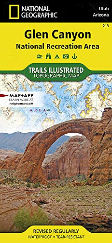 Glen Canyon National Recreation Area: Utah / Arizona, USA (Trails Illustrated Map # 213)