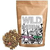 Wild Herbal Tea #6 Mother Blend by Wild Foods - 9 Ingredient Tea with Raspberry Leaf, Linden, Lemon Verbena, Rose, Cinnamon, Stevia, 100% Natural (8 ounce)
