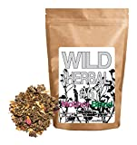 Wild Herbal Tea #6 Mother Blend by Wild Foods - 9 Ingredient Tea with Raspberry Leaf, Linden, Lemon Verbena, Rose, Cinnamon, Stevia, 100% Natural (4 ounce)