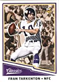 #2: 2017 Panini Classic #141 Fran Tarkenton Minnesota Vikings Football Card