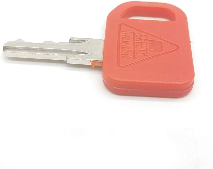 FridayParts 4Pcs Ignition Key AT195302 AT145929 for John Deere 310C 310E 315C 410C 415B 710D