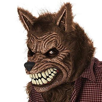 California Costumes Men's Werewolf Ani-Motion Mask Lycan Horror