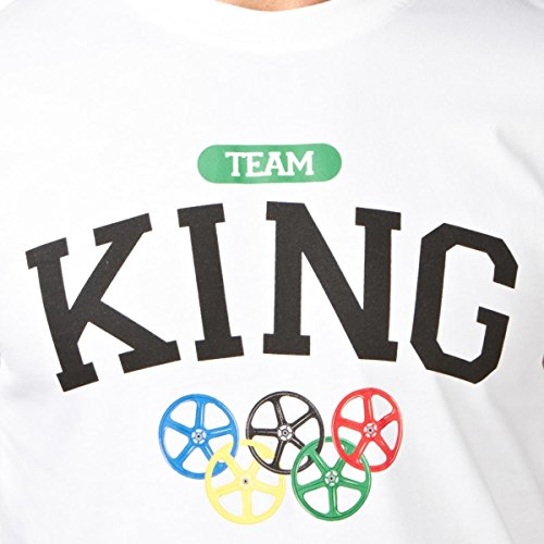T-Shirt King Apparel ~ K-Team - weiss-S