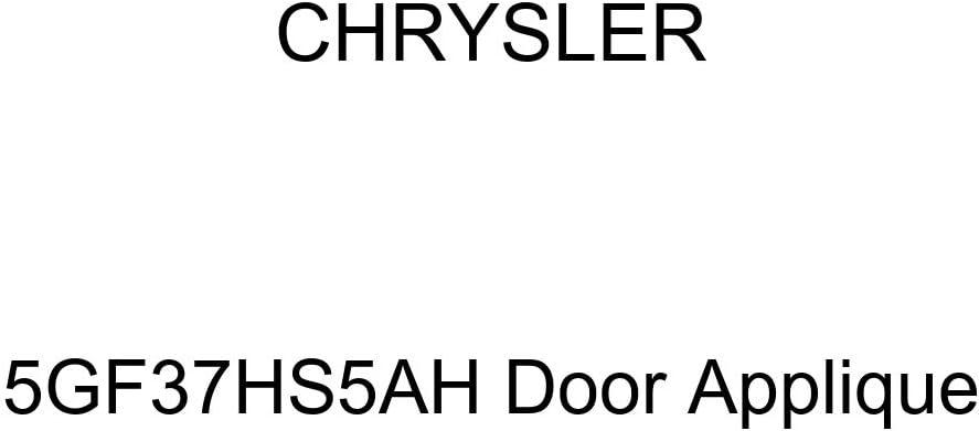 Genuine Chrysler 5GF37HS5AH Door Applique