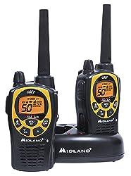 Midland Consumer Radio Gxt1030vp4 36-mile 50-channel Gmrs Two-way Radio (Blackyellow)