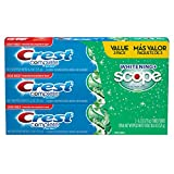 #1: Crest Complete Whitening Plus Scope Toothpaste - Minty Fresh, Net Wt. 6.2 oz(175 g) (Pack of 3)