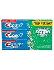 Crest Complete Whitening Plus Scope Toothpaste - Minty Fresh,...