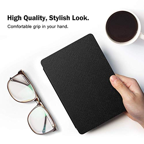 MOCA Flip Cover case Compatible for 2018 All Kindle Paperwhite 10 10th th Gen Generation 2018 Release Flip Cover case (Black)
