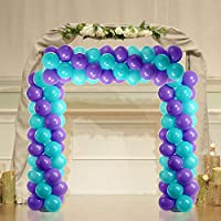 NW 1776 2-Pack 5.25 Feet Height Balloon Column Base//Simple Arch//Stick //Plastic