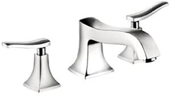 hansgrohe Metris C Classic Replacement Easy Clean 2-Handle 3 6-inch Tall Bathroom Sink Faucet in Brushed Nickel, 31073821