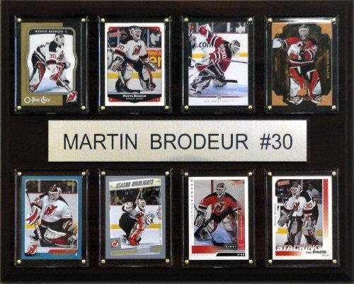NHL Martin Brodeur New Jersey Devils 8 Card Plaque - Plaque Jersey Devils New