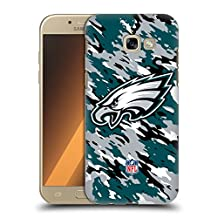 Official NFL Camou Philadelphia Eagles Logo Hard Back Case for Samsung Galaxy S6 edge+ / Plus