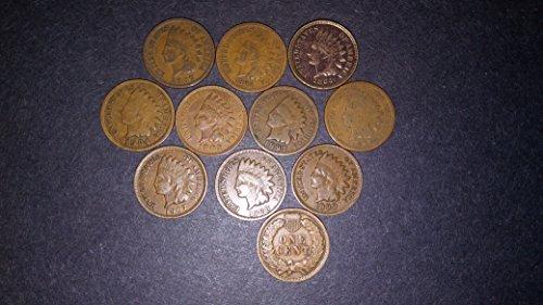 10 - Indian head cents collectors Penny Bag Grab