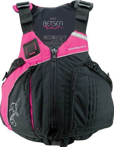 Stohlquist Women's Betsea Personal Floatation Device, Pink/Black, Small/Medium