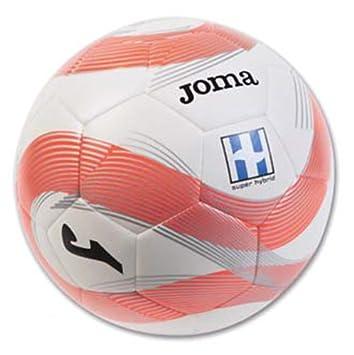 Joma - Balon Super Hybrid Coral Talla 4: Amazon.es: Deportes y ...