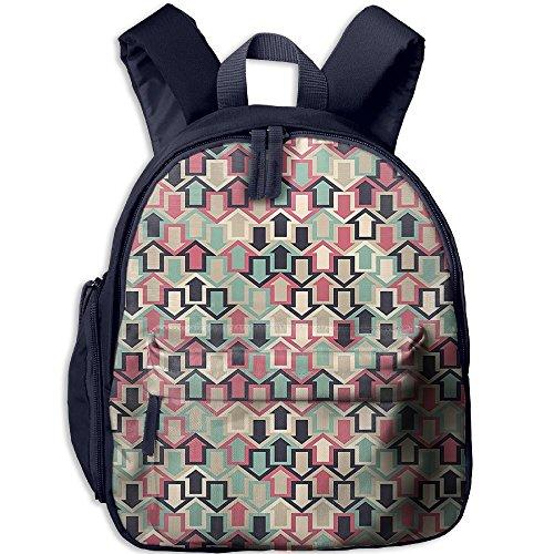 Mkajkkok Arrows Various Colors Modern Trendy Creative Symbol Graphic You Are My Sunshine Backpack 3D Printing School Bag.